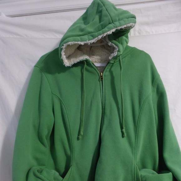 Old Navy extra large green zip up hoodie